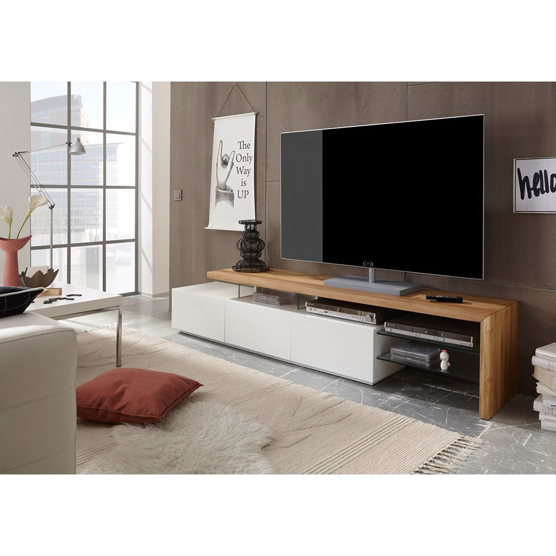 tv lowboard molios ii lowboard
