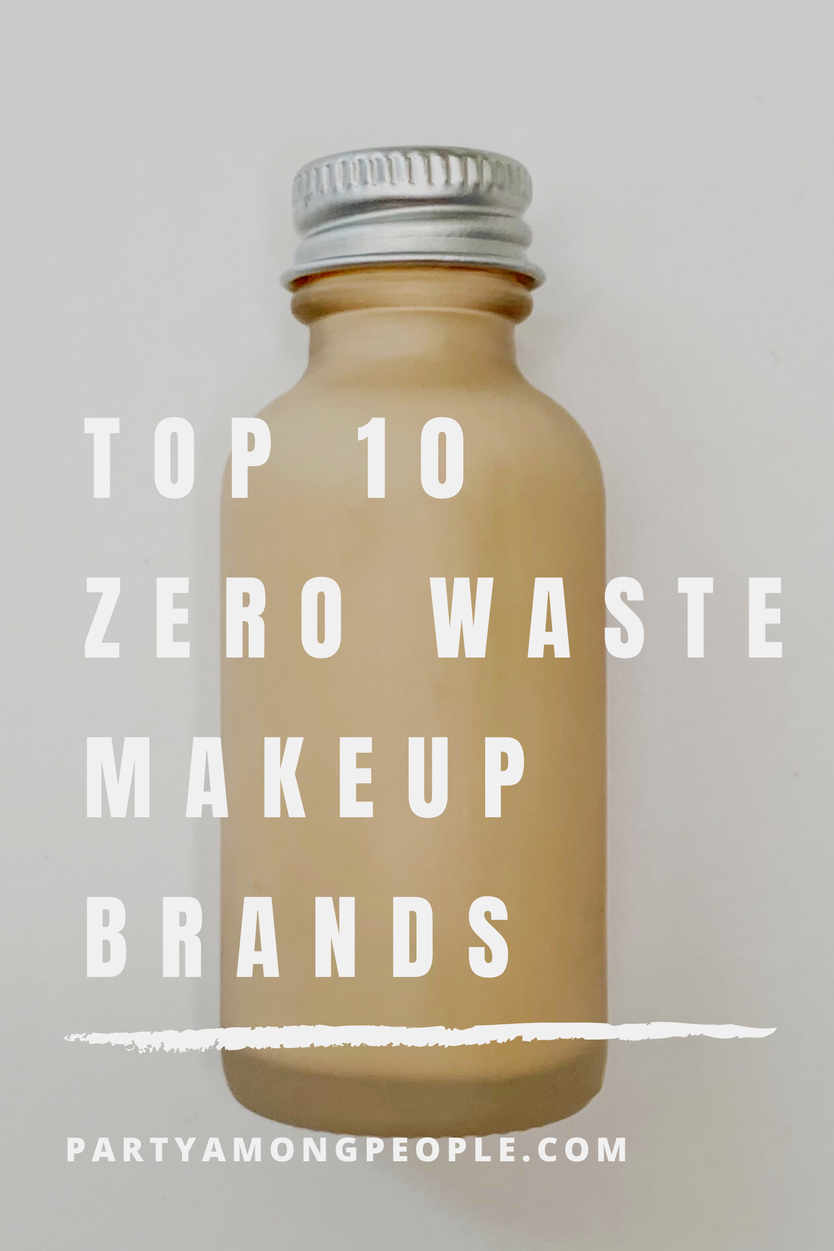 10 ZeroWaste Makeup Brands in 2020 Makeup brands, 10
