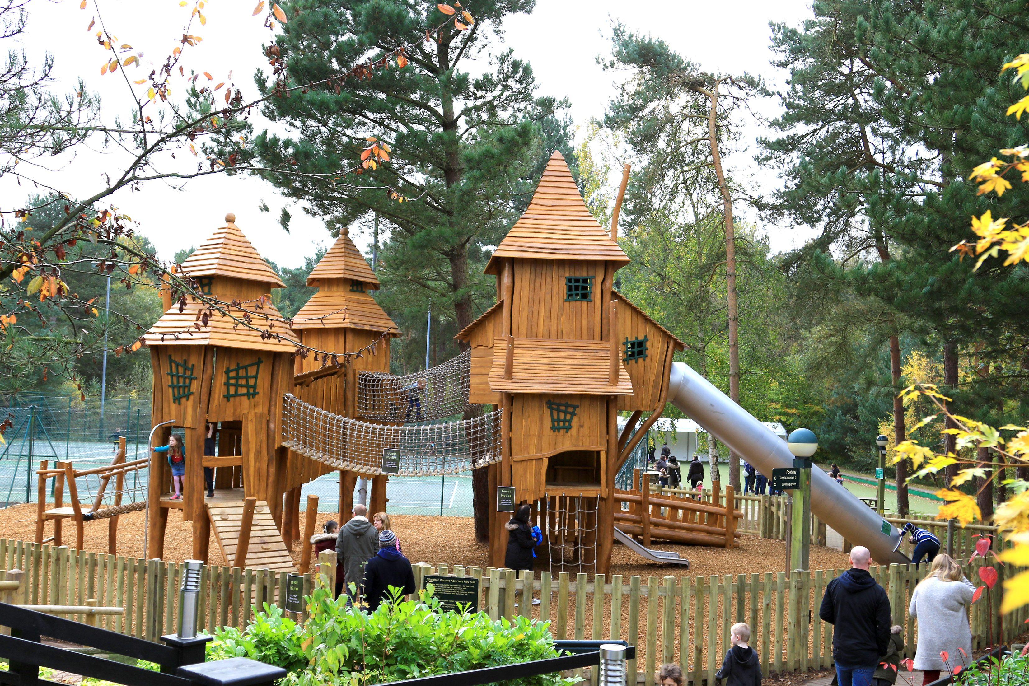 Center Parcs Playground Design Installation Russell Play Playground Design Outdoor Play Structures Playground Swing Set