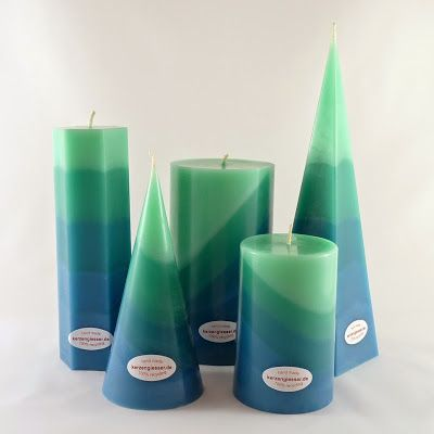 Turkis Kuhl Und Erfrischend Kerzen Aus Der Kerzengiesser