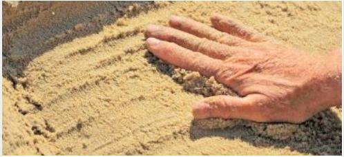 كيفية التيمم للصلاة Teaching Sand
