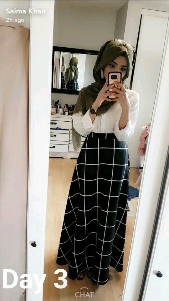 High Waisted Skirt And Floaty Button Down Tap The Link Now To See Our Super Col Buttondown Col Fl Muslim Fashion Outfits Hijab Fashion Trendy Dresses