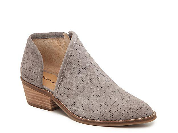 Women Felixah Bootie Grey Lucky Brand Booties