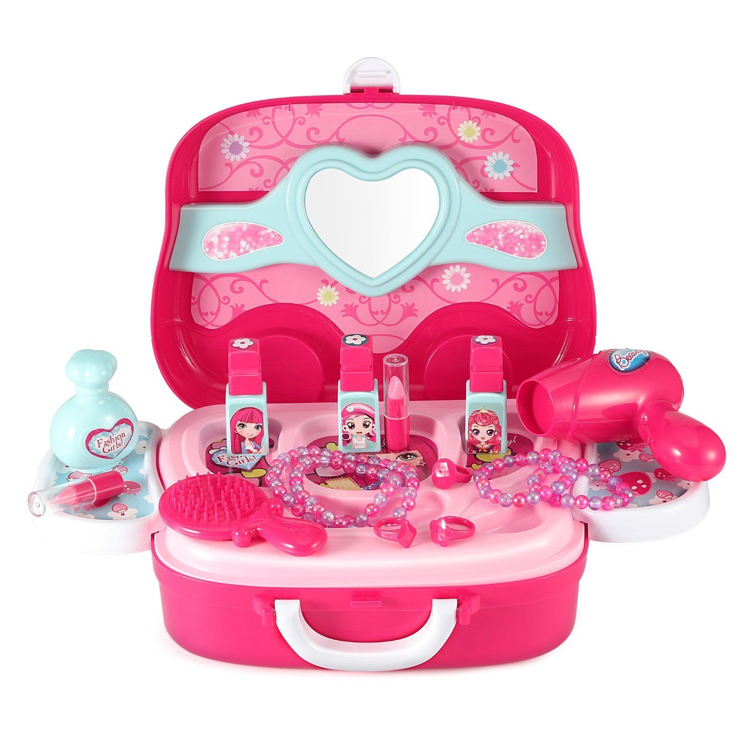Lifetandy Make Up Box Toy Set For Baby Little Girl Plastic