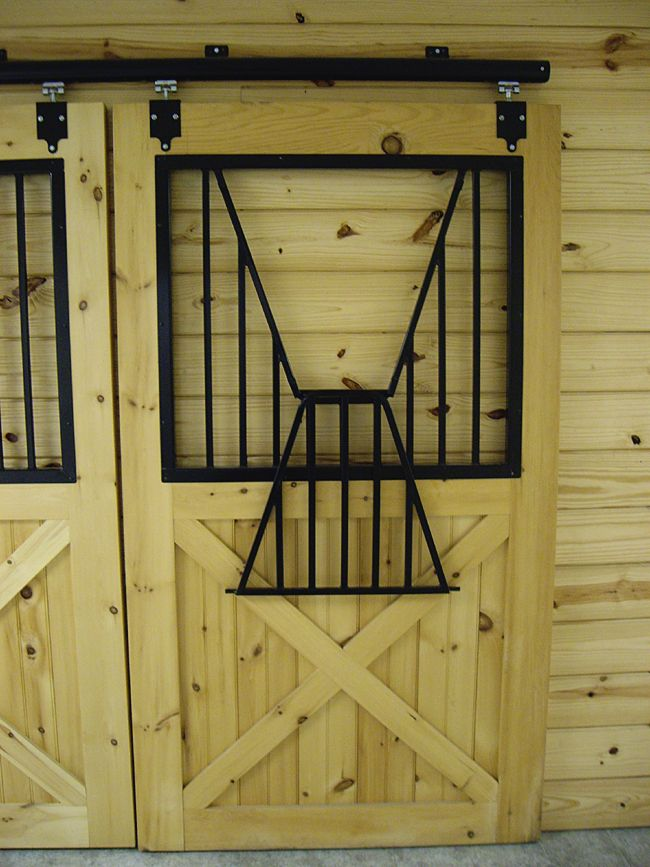 Wooden stall door item st 01 door price 550 for Horse stall door plans
