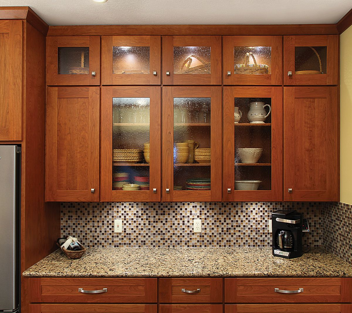 Cherry Kitchen Cabinet Doors Contemporary Cherry Kitchen Cabinets Tuscan Cabinets