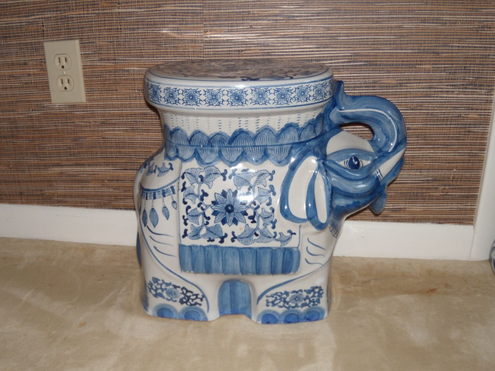 Fine Decorative Porcelain Garden Stool Elephant Ebay Spiritservingveterans Wood Chair Design Ideas Spiritservingveteransorg