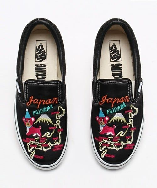 b9e916f305 Rollicking x Vans Slip On JP