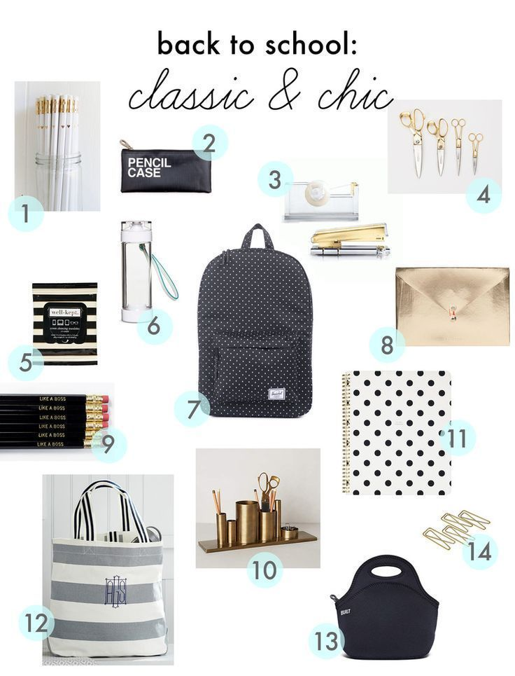 back to school style - classic & chic #backtoschool classic & chic back to school finds #schoolstyle