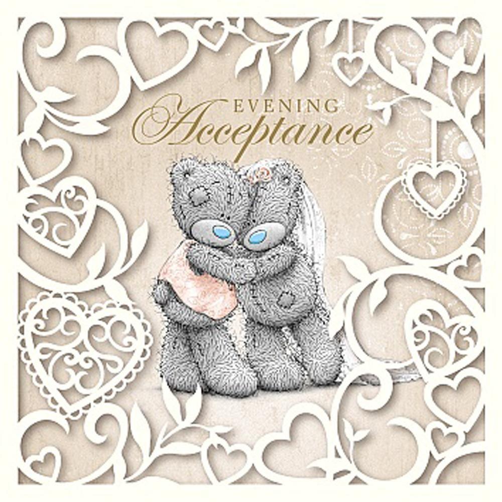 Evening Acceptance Me to You Bear Wedding Card £1.49 | Clip Art Work ...