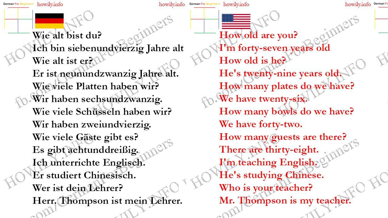 Lektion 11 English Lernen Deutsch Lernen Lernen