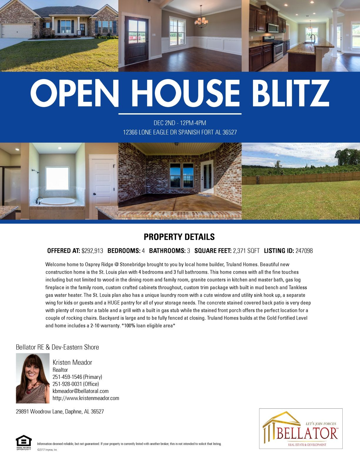 Open House Blitz Open House Home Builders Real Estate Tips