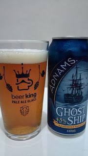 Uma American Pale Ale bem clássica, sabores amargos e intensos dominam a cerveja, que deve ser saboreada aos poucos para garantir uma melhor experiência, de resto, as outras características são bem comuns à qualquer outra cerveja.  #Adnams #Ghost #Ship #cerveja #bebida #alcoólica #álcool #American #Pale #Ale #EstadosUnidos #EUA #USA #âmbar #ghostly #navio #fantasma #GuiasLocais #LocalGuides #BeerKing #BeerKingStore #XinGourmet