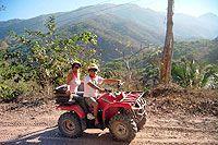 Xtreme ATV Tour in Puerto Vallarta Mexico - http://www.puertovallartatours.net/rancho-capomo-horseback-riding.htm