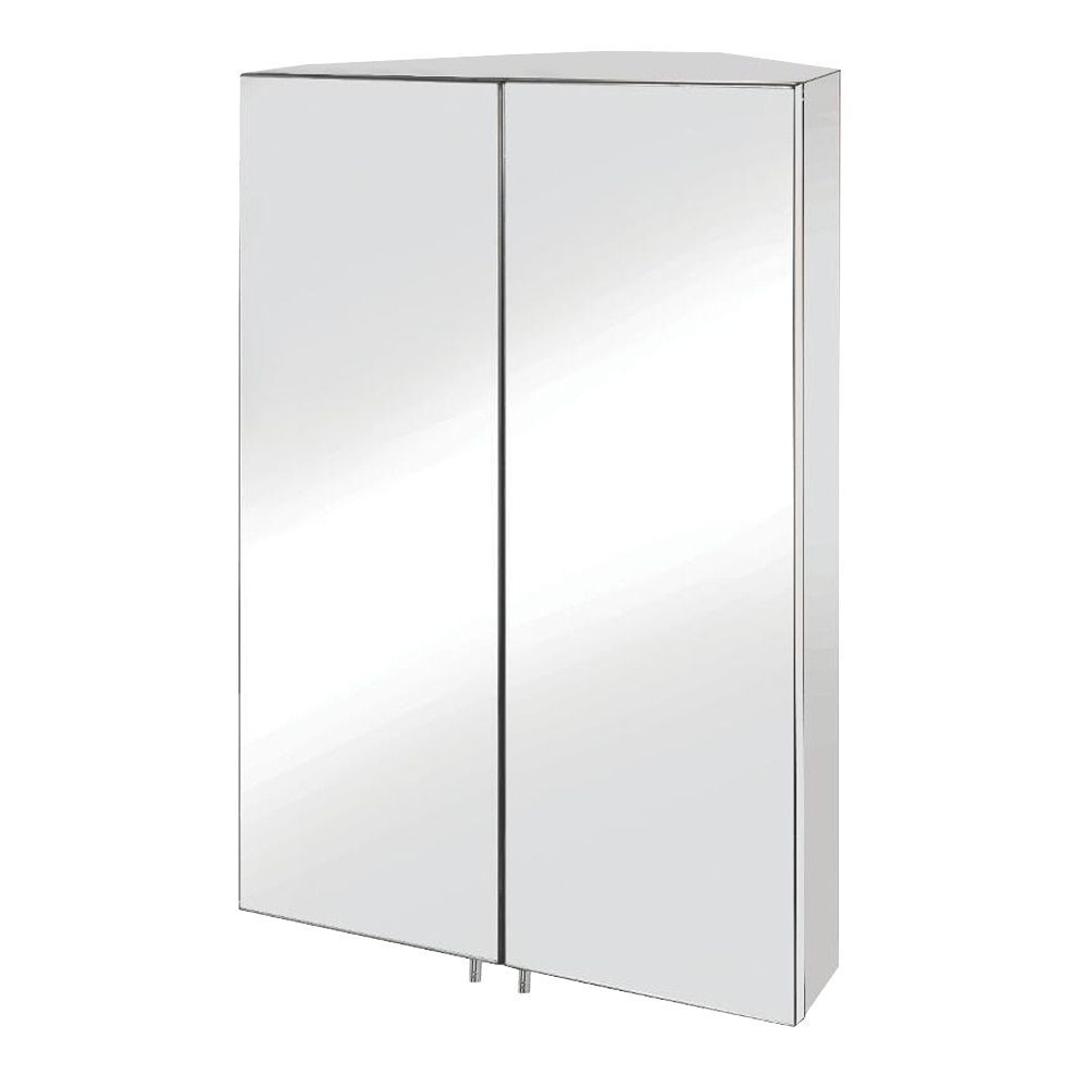 Mirror Medicine Cabinet With Lights Aquadom Double Door Royale