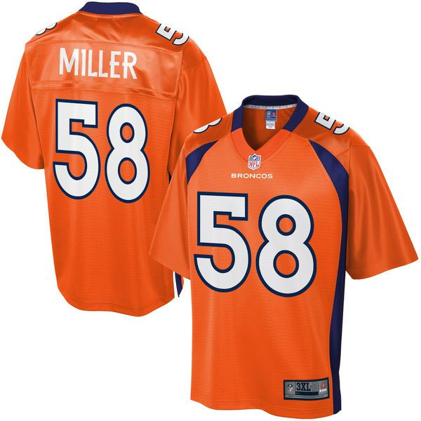 NFL Pro Line Mens Denver Broncos Von Miller Big   Tall Team Color Jersey -   124.99 4b5e2afde