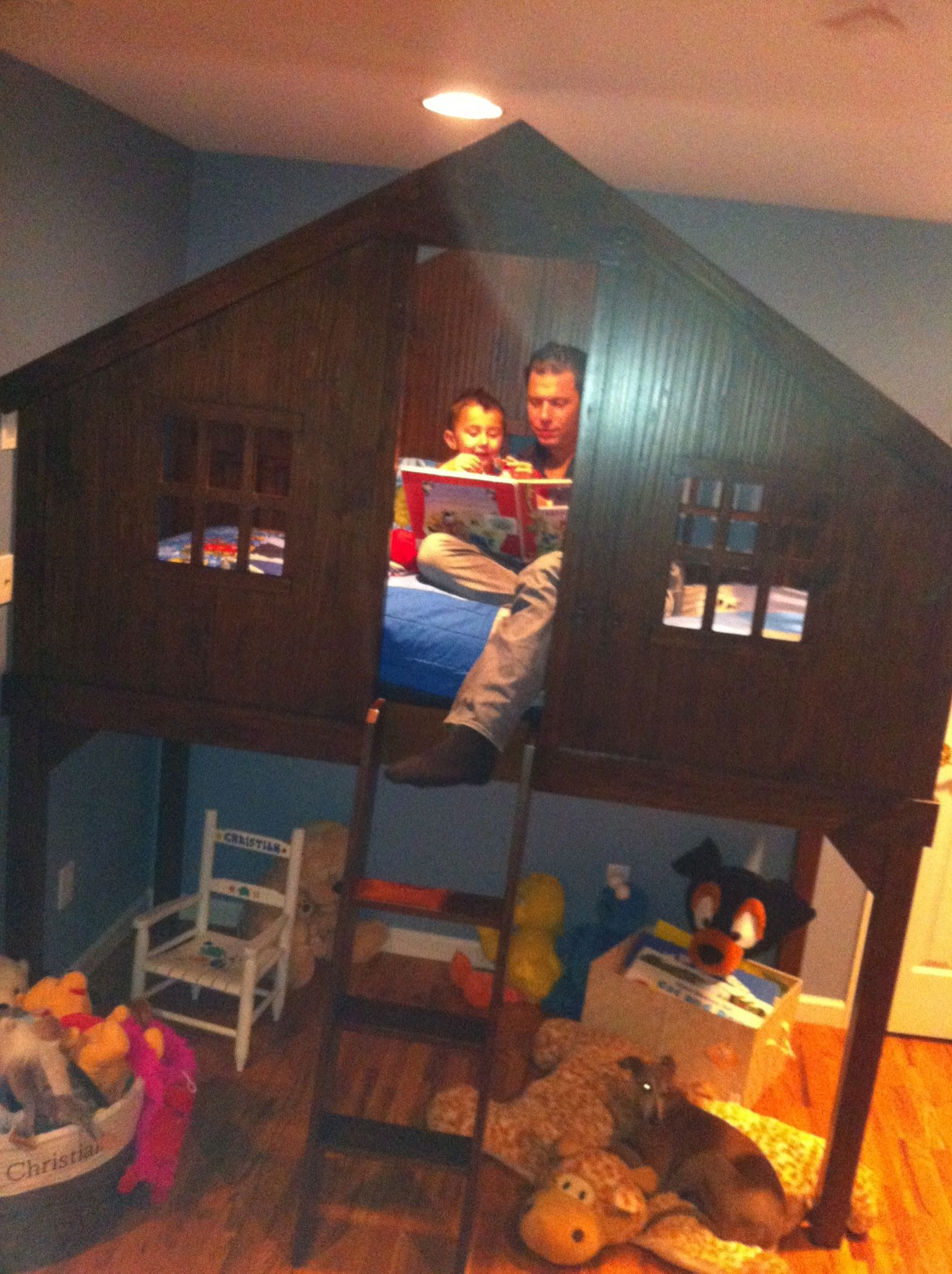 Kids Bedroom Tree House pottery barn tree house bunk bed | wicked cool house | pinterest
