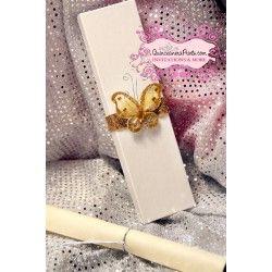 Butterfly Quinceanera Handmade Invite Box Quinceanera Invitations