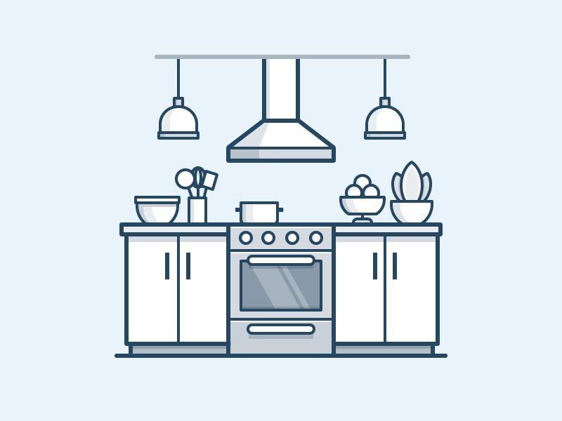 Kitchen Icon By Scott Tusk