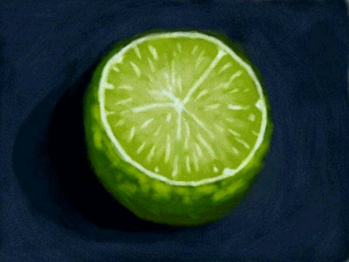 This is my painting of a lime which I did on my DSi on Art Academy :)