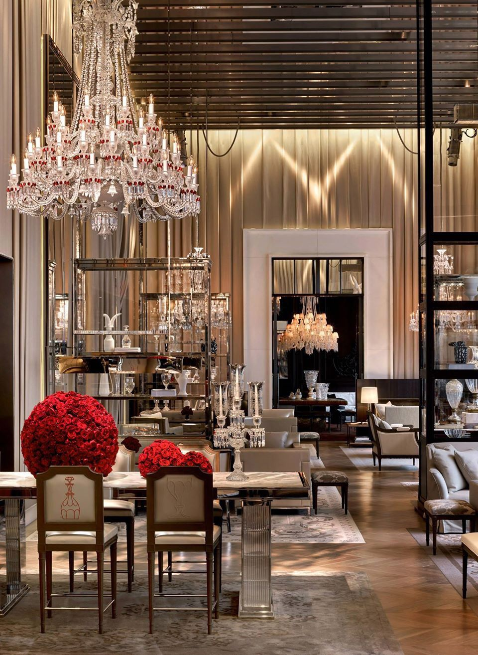 Grand Salon Grand Salon At The Baccarat Hotel New York Hôtels Du Monde