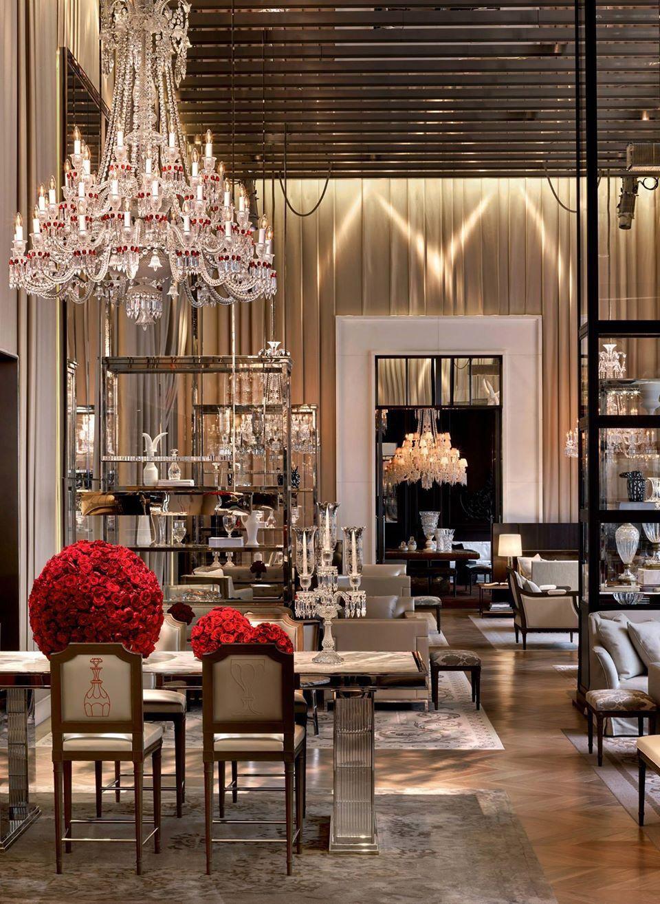 grand salon at the baccarat hotel new york h tels du monde hotel decor hotel interiors. Black Bedroom Furniture Sets. Home Design Ideas