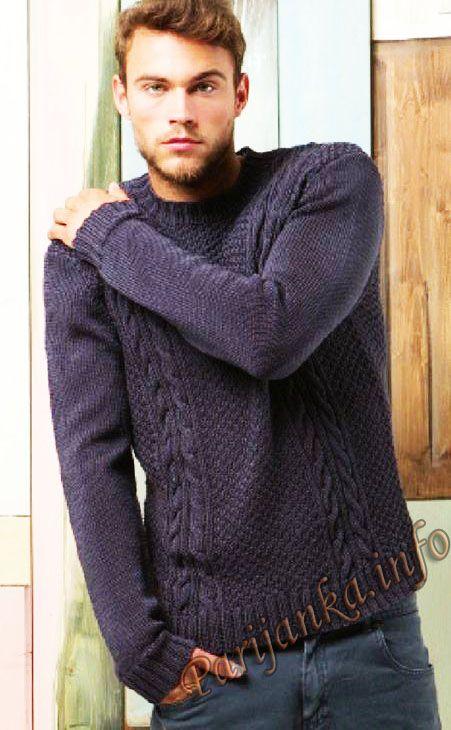 Пуловер (м) 28*218 FAM №4776 | MI for men! | Pinterest | Sueter ...