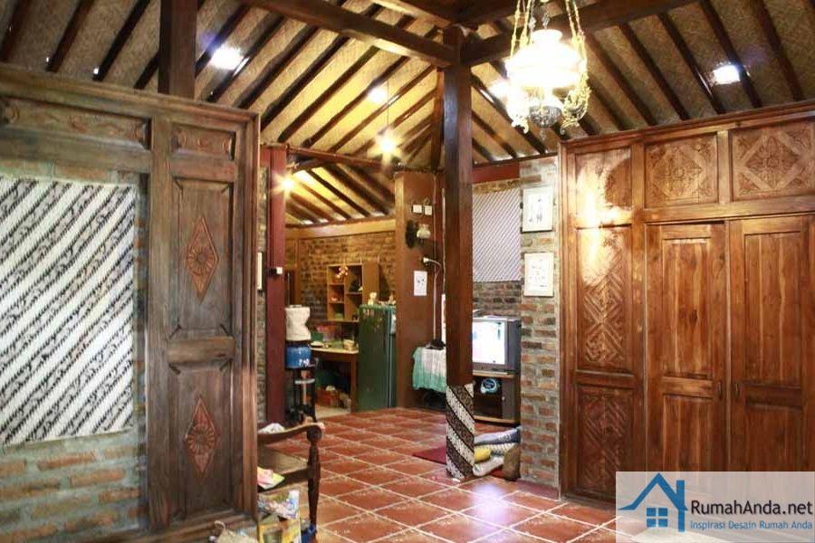 Desain Interior Rumah Kayu Jawa Dengan Gambar Rumah Kayu