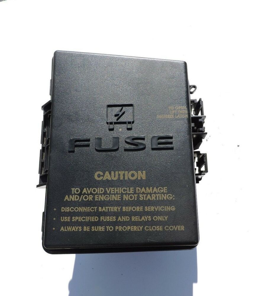 hight resolution of 04 05 chrysler pacifica totally integrated power module fuse box 05082790ah tipm chrysler