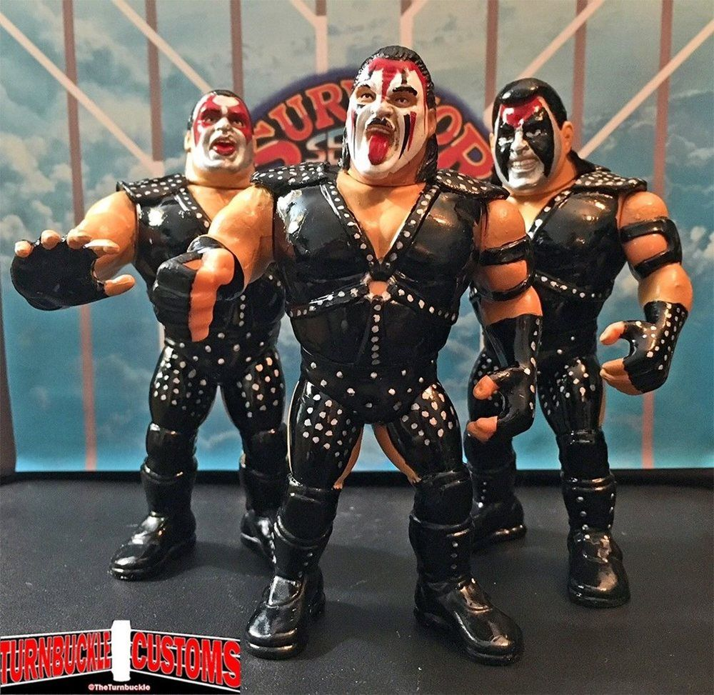 Custom WWF WWE Hasbro Demolition
