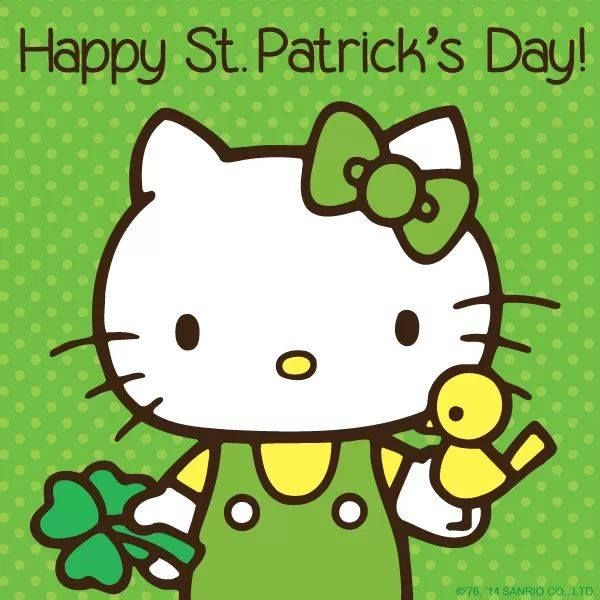 Hello Kitty St Patricks Day   Crafts, Art & Holiday Projects ...