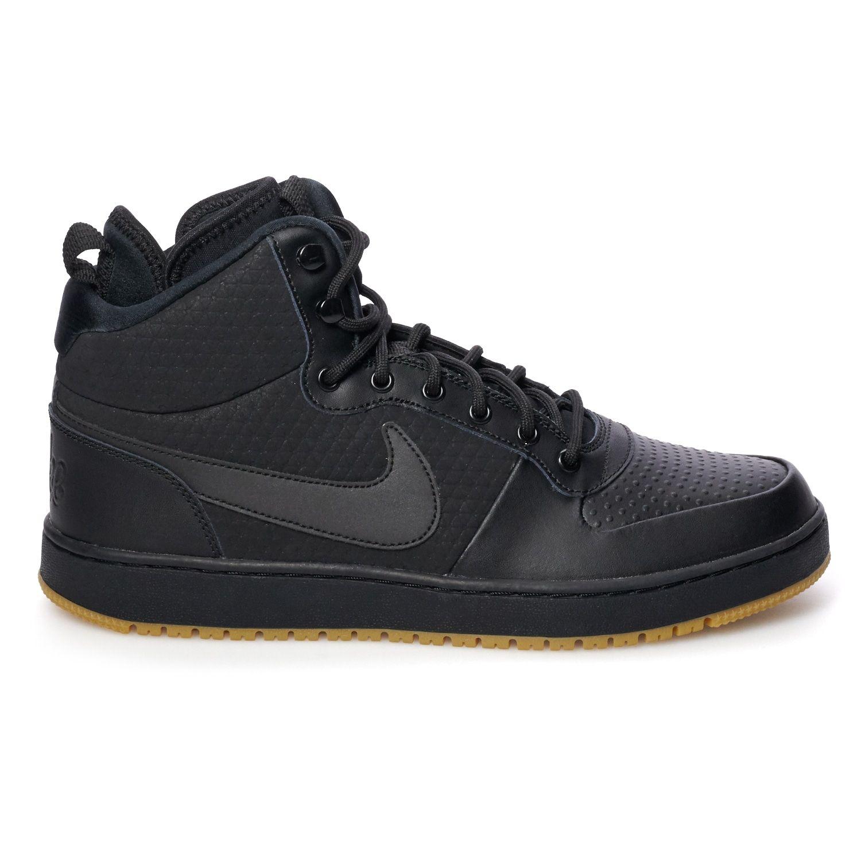 Nike Ebernon Mid Winter Men S Water Resistant Sneakers Mid Winter Nike Ebernon Nike Shoes Size Chart Mens Nike Shoes Sneakers