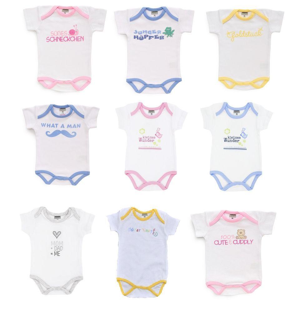 62 Other Newborn-5t Girls Clothes Mädchen Spruch Body Gr Baby & Toddler Clothing