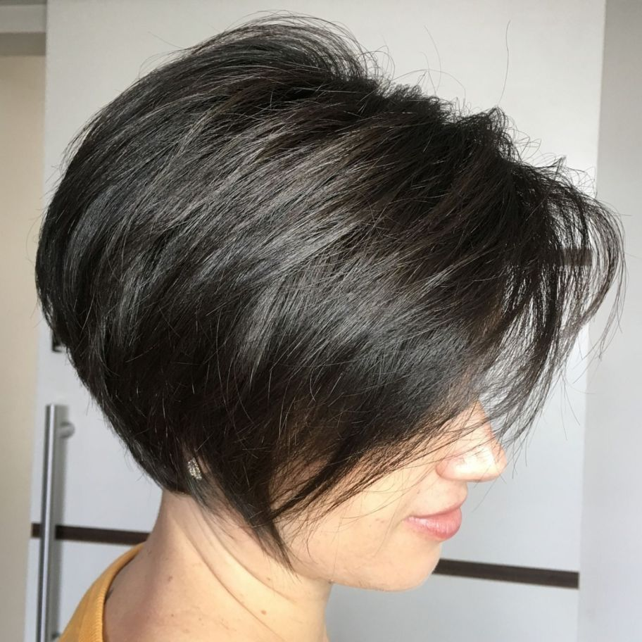 classy short haircuts and hairstyles for thick hair cortes de