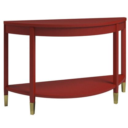 Dauphine Console - laquered linen- Priley Lane