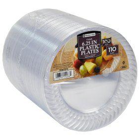 Sam\u0027s Club - Member\u0027s Mark Clear Plastic Plates ...  sc 1 st  Pinterest & Sam\u0027s Club - Member\u0027s Mark Clear Plastic Plates 6.25\
