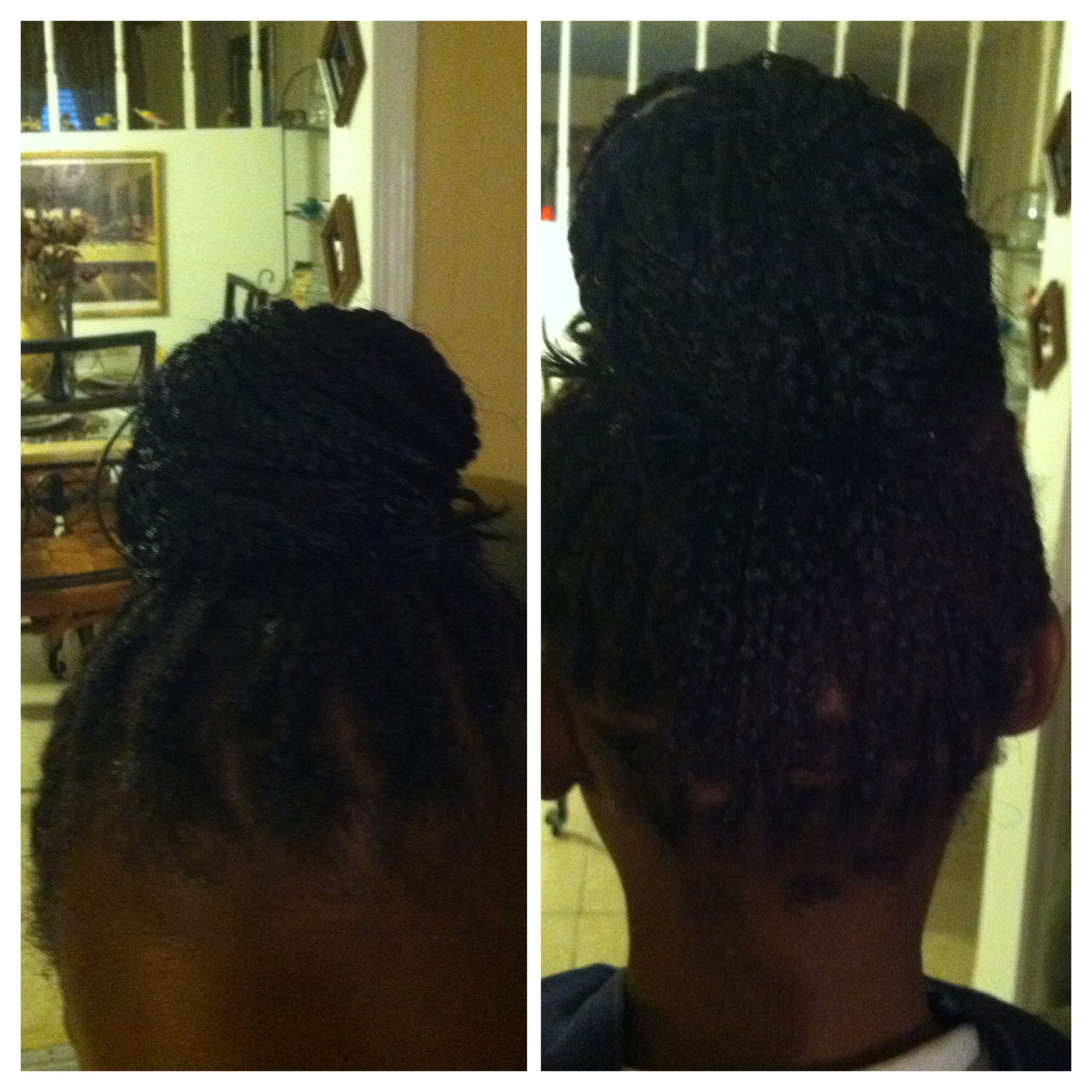 Box Braids On A 9 Year Old The Style Is Cute And Not To Grown Hair Styles Cute Hairstyles Pretty Hairstyles