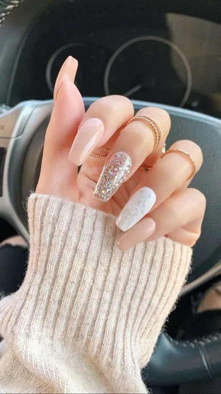 55 Cute And Beautiful Nail Color Ideas Every Year 1 In 2020 Best Acrylic Nails Long Nails Acrylic Nail Designs