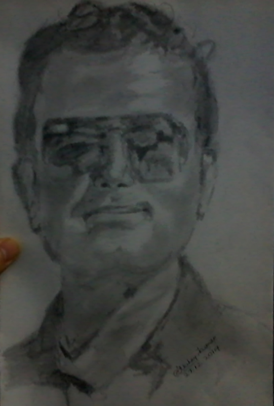 Jhalamand jodhpur man drawing by artist akshay kumar