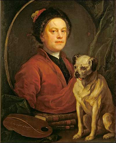 Painter And Pug Hogarth And Hound William Hogarth Art Pug Art