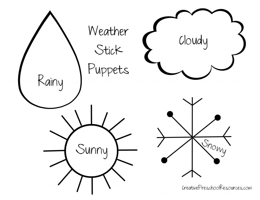 Weather Graph, Weather And Preschool