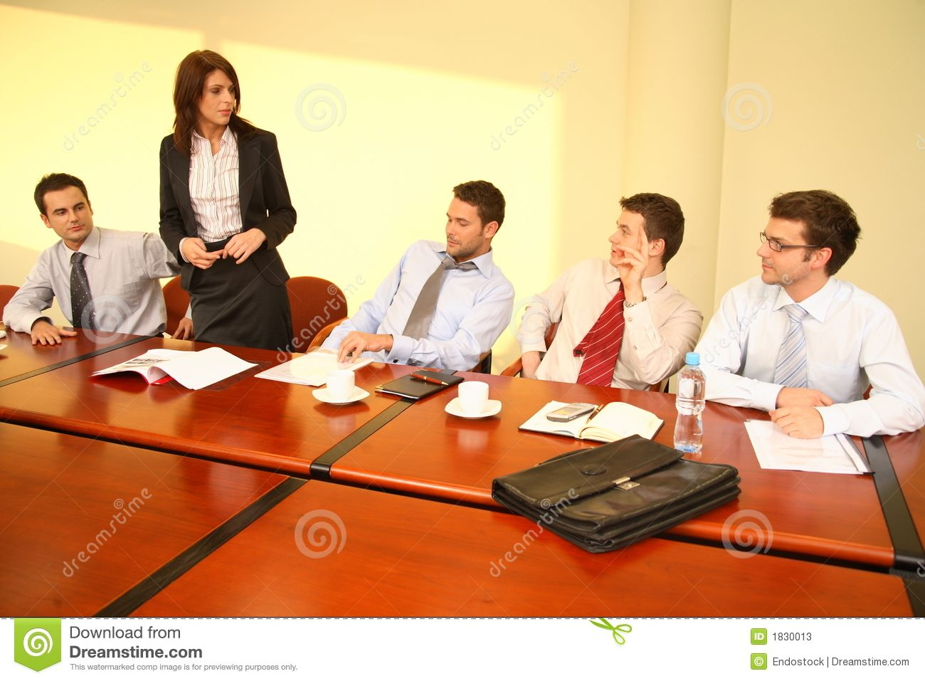 Business Women In A Meeting Stock Photos Informal Business