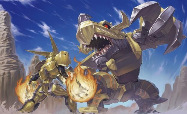 digimon omegashoutmon vs zeekgreymon animemanga