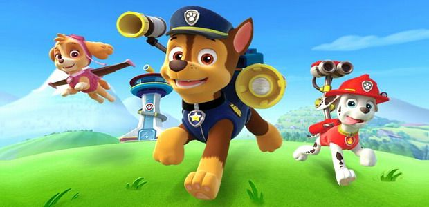 These cute and colorful Paw Patrol
