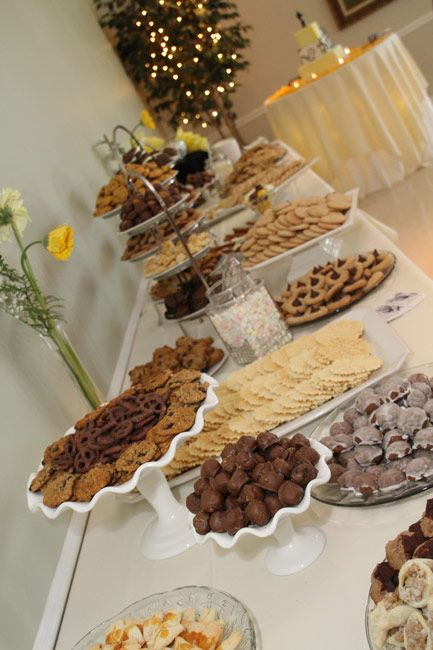 Pittsburgh Cookie Table Atrium Receptions In 2019 Cookie Table