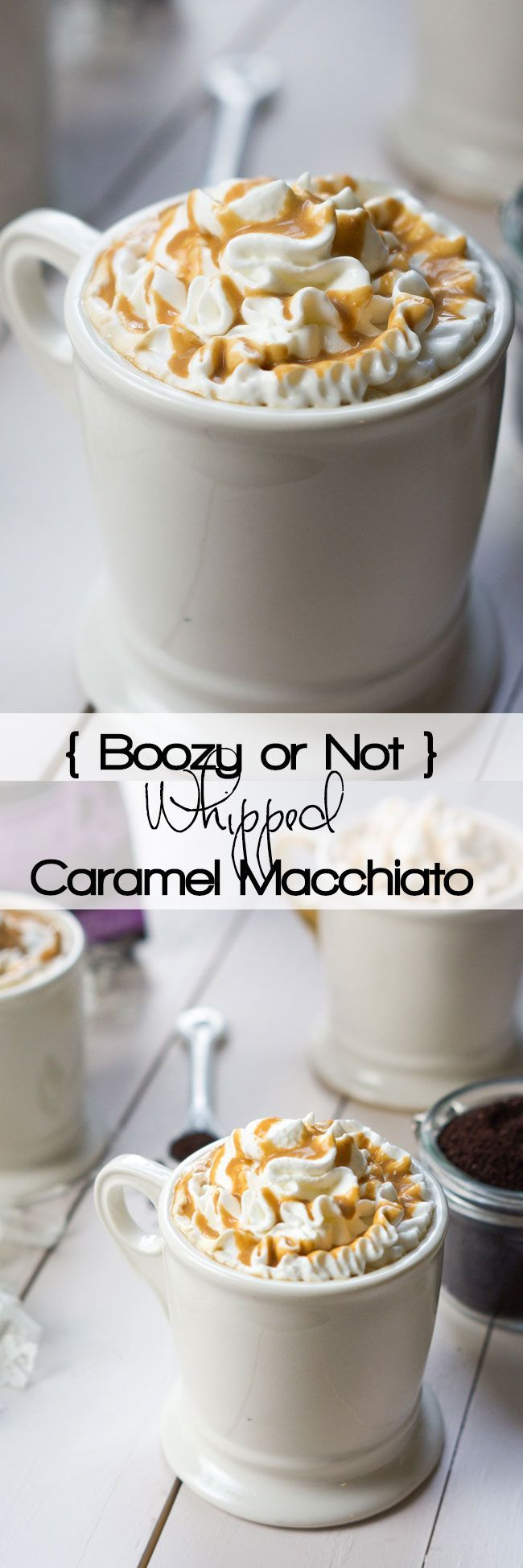 Whipped Caramel Macchiato is a combination of creamy
