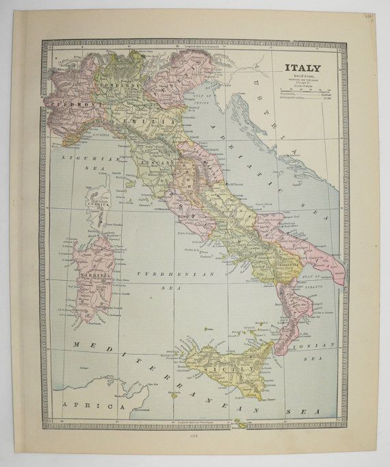 Antique map of italy turkey map greece 1885 vintage map balkan antique map of italy turkey map greece 1885 vintage map balkan peninsula gumiabroncs Choice Image