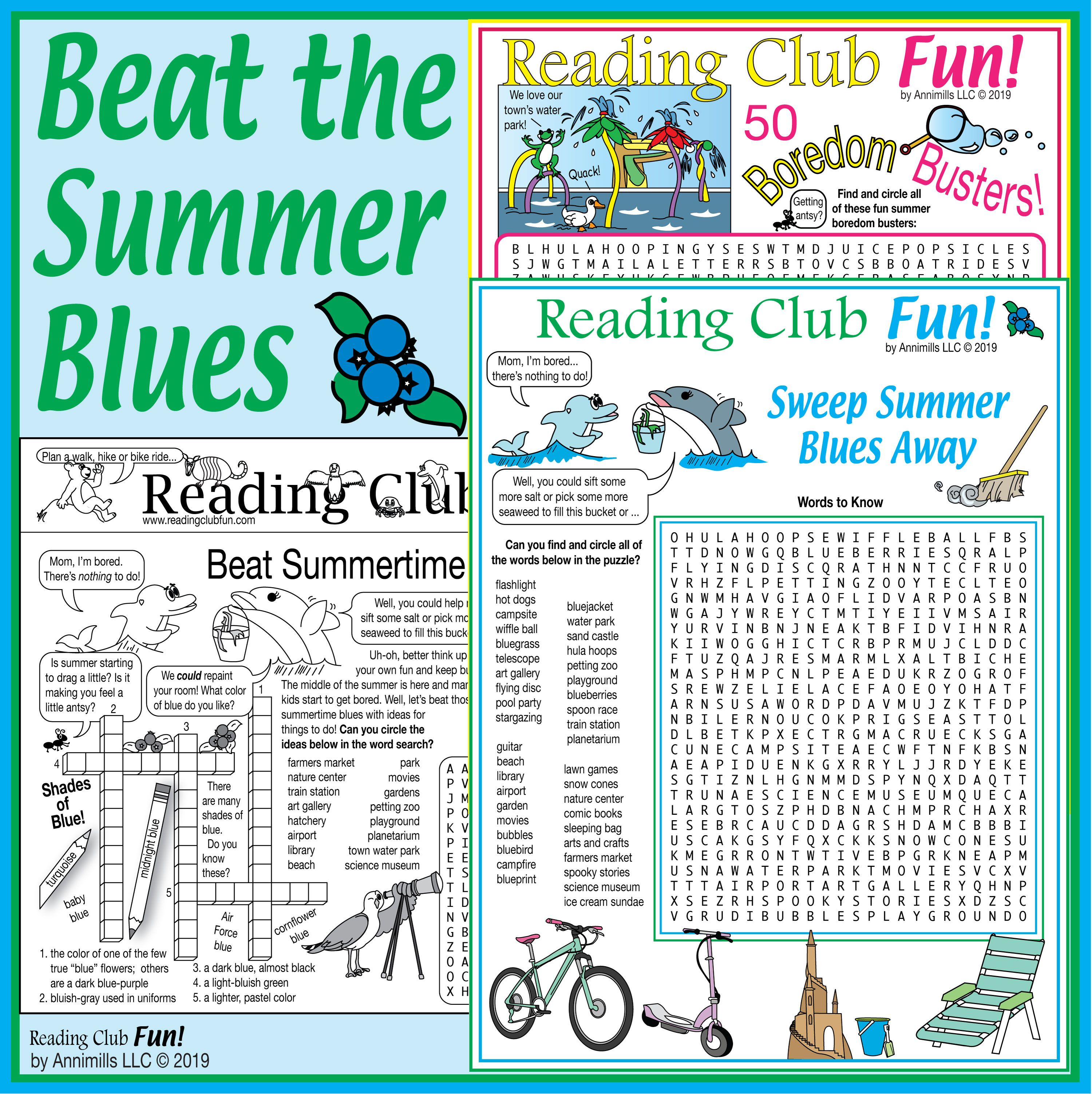 Beat Summertime Blues Puzzles Packed With Ideas For Summer Fun