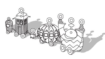pontipines coloring pages - photo#24