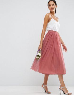Asos Mehrlagiger Ballrock Aus Tull Ballrock Kleid Hochzeit Gast Hochzeit Kleidung